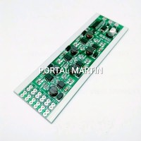 Modul LED Strobo 6 Jalur 16 Mode Kedip