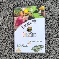 Cross Seed Purple NN Benih Cabe Hias Warna Warni Import Rainbow Pepper