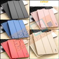 iPad Mini 1/2/3 Luxury KAKUSIGA Carbon 3 Fold Smart Flip Cover / Case