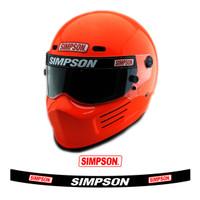 Sticker Skotlet Stiker Helm Simpson 1 Set