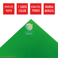 Kertas Karton Asturo Hijau Green (60 x 40 cm) Scotlite