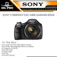 SONY CYBERSHOT DSC-H400 GARANSI RESMI - CAMERA SONY H-400