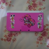 New Nintendo 3ds LL Pink