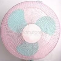 Cover Fan, Cover Kipas angin, Sarung Kipas angin, Penutup Kipas Kodaki - Merah Muda