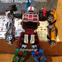 MAINAN ANAK ROBOT - TOBOT MAGMA 6 JUMBO 6IN1 523 magma six kw super
