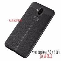 Asus Zenfone 5Q / 5 Lite - ZC600KL Soft Case Autofocus Look Leather