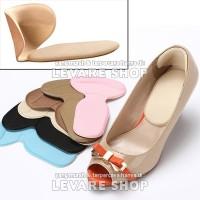 Sol Sepatu Bantalan Tumit Kaki Anti Lecet High Heels Shoe Pad T Shape