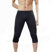 Celana manset baselayer olahraga 3/4 fit L