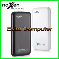 Powerbank Naxen 10000mAh 18w Real Capacity Quick Charge 3.0 QC
