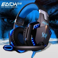 Kotion Each G2000 Gaming Headset Super Bass + LED Light