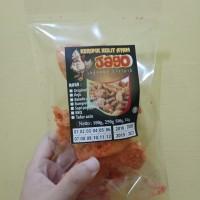 keripik kulit ayam balut tepung 60gr rasa sapi panggang kripik kerupuk