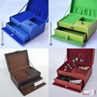 PROMO - Kotak Tempat Perhiasan /Box Aksesoris Cincin, Gelang & Kalung