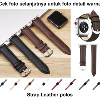 Apple Watch iWatch 42mm 42 mm Leather Strap Polos Kulit Tali Band Jam