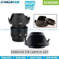 Lens Hood for Canon ES-62II (EF 50mm f1.8 II / Yongnuo 50mm F1.8)