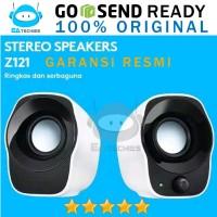 Logitech Speaker Z121 Resmi Stereo USB Power + Volume Control Z120