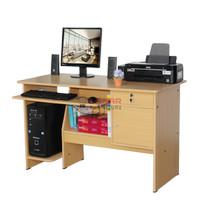 Meja Komputer Kantoran Uk 120 x 55 x 73, Warna Beech (Kayu)
