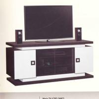 Meja TV ukuran 40 , dengan 2 laci.