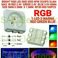CE ROHS CERTIFICATION RGB LED SMD 5050 CHIPS LED RGB SL424