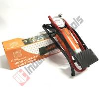 PRO UNITED Pompa Angin Injak Kaki Darurat Motor Mobil Sepeda Bola