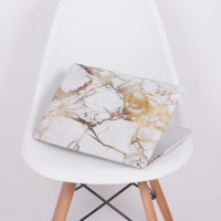 Case Macbook Pro Retina 13 White Yellow Marble
