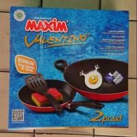 Wajan Penggorengan Maxim Valentino 2pc set Anti lengket