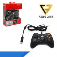 STIK PC XBOX 360 KABEL WIRED MICROSOFT STICK /JOYSTIK /CONTROLER