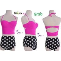 High Waist Bikini Baju Renang Celana Dalam Underwear Wanita Lingerie