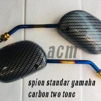 spion standar model mio two tone carbon universal honda yamaha