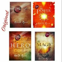 Paket 4 Buku The Secret Magic Power & Hero Rhonda Byrne