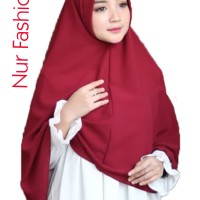 Hijab pet jumbo | pet antem | khimar syari | wolfis | wanita | muslim