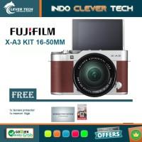 Fujifilm X-A3 Kit 16-50mm f/3.5-5.6 OIS II - FREE MEMORI