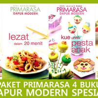 Paket Primarasa 4 Buku Dapur Modern Spesial