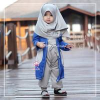 Gisela Set - Baju Muslim Balita - Setelan Blouse Balita Kekinian 5-6th