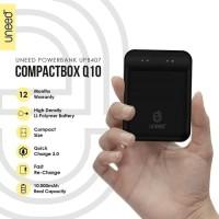 Powerbank Fast Charging 3.0 Uneed CompactBox Q10 10000 Mah UPB407
