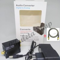 PAKET Digital Analog Audio Converter + Kabel Toslink