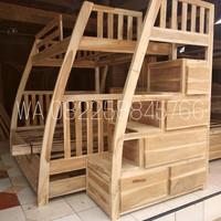 Furniture Mebel Jati Jepara Dipan Tempat Tidur Kamar Anak Tingkat