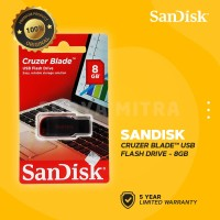 Sandisk 8GB Original Cruzer Blade Flashdisk / CZ50 / CZ 50