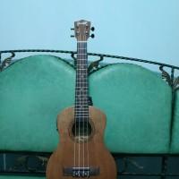 ukulele tenor elektrik cowboy coklat tua original murah jakarta
