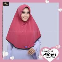Hijab Arrafi AR 303 Jilbab Instan AR Rafi Kerudung Bergo Serut