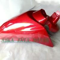 Spakbor Depan Honda Scoopy fi merah marun
