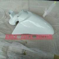 Spakbor Depan Honda Scoopy Fi ESP Warna Hitam putih merah cabe marun