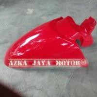 Spakbor Depan Honda Scoopy fi ESP Sporty Warna Merah Cabe - Red Bion