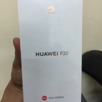 barang ready Huawei P20 New Segel original stock terbatas
