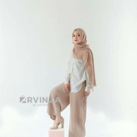 celana kulot/Chelsea Palazzo/baju muslim wanita/celana plisket