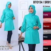 Tunik baju atasan wanita muslim blus bisa di pakai untuk acara