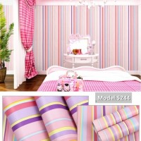 Wallpaper PELANGI SALUR • Wallpaper Dinding 10M x 45Cm
