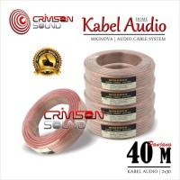 Kabel Audio 1 Roll 40 Meter 12 AWG Mignova 2x30