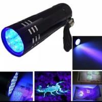 Senter UV LED Sinar Biru