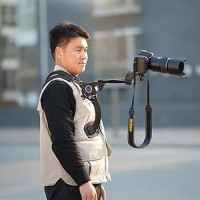 DV DC Camcorders Hand Free Video Cameras Shoulder Tripod Support Pad