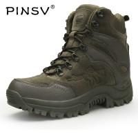 Sepatu Pinsv Pria Musim Dingin Sepatu Tentara Militer Taktis Sepatu